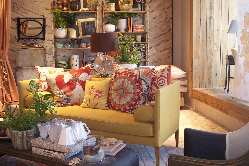 A Lovely Living Room Anthropologie Victoria Gardens