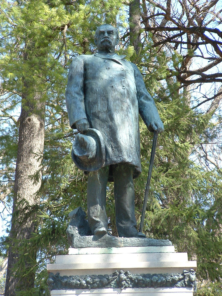 J Sterling Morton The Founder Of Arbor Day This Statue
