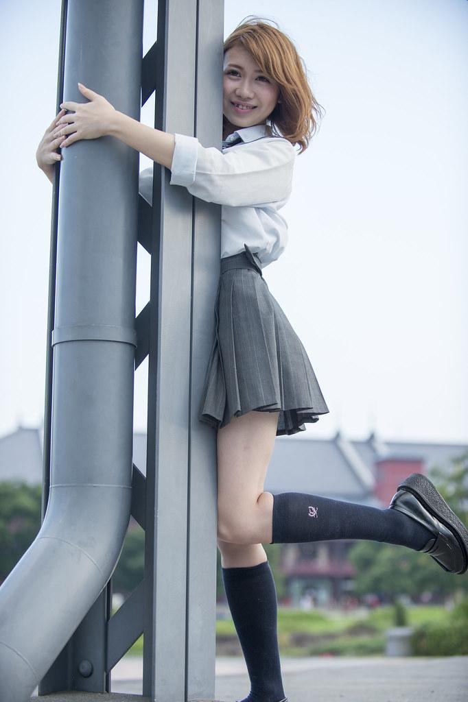 タイムスリップ女子高生 モデル 市川日葵さん Toruc Flickr