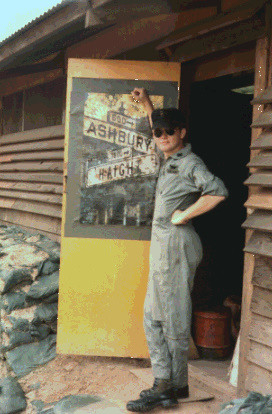 1969 Long Thanh North Vietnam Standing In Front Of The