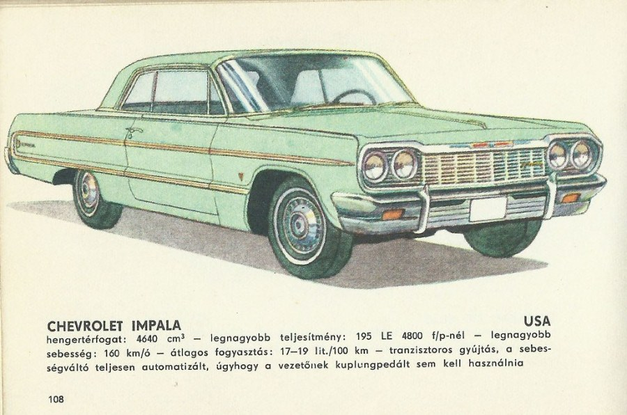 1968 chevrolet cars » Chevrolet Impala   Illustrations from the book titled  Cars       Flickr Chevrolet Impala   by granada turnier Chevrolet Impala   by granada turnier
