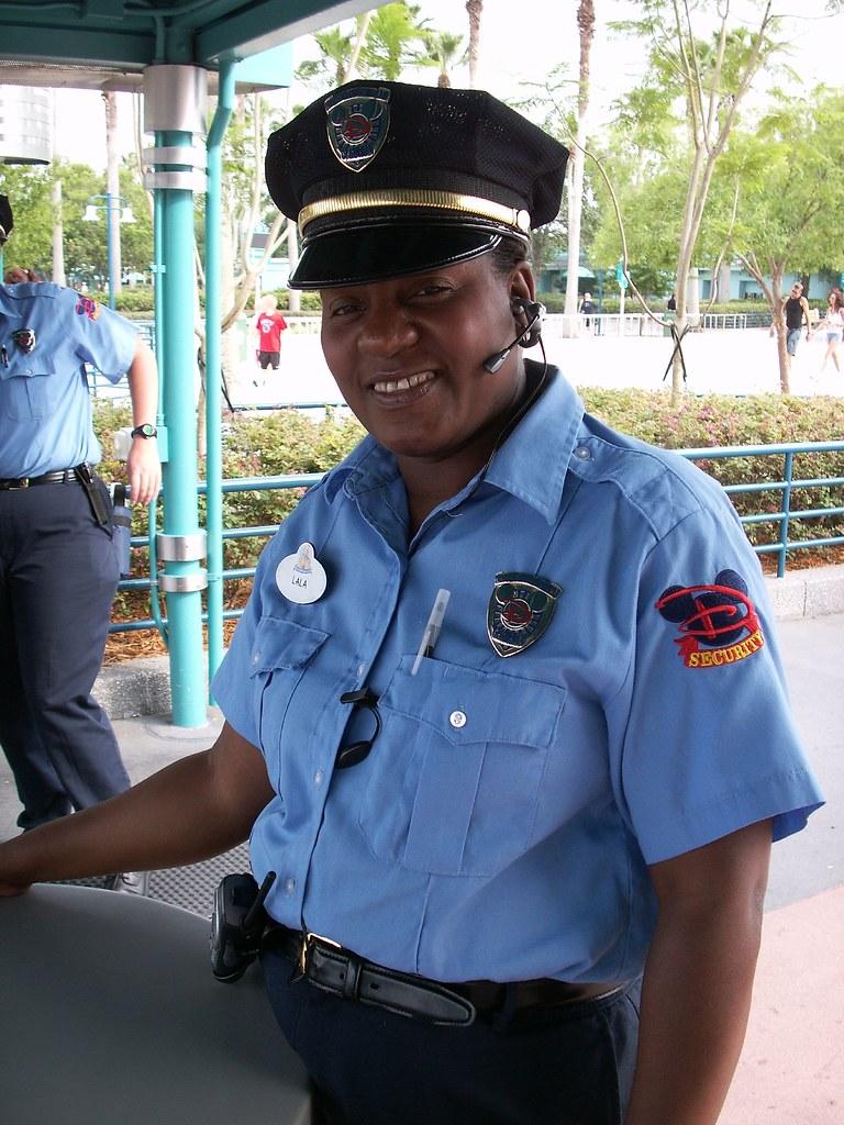 Security Guard 3d Image