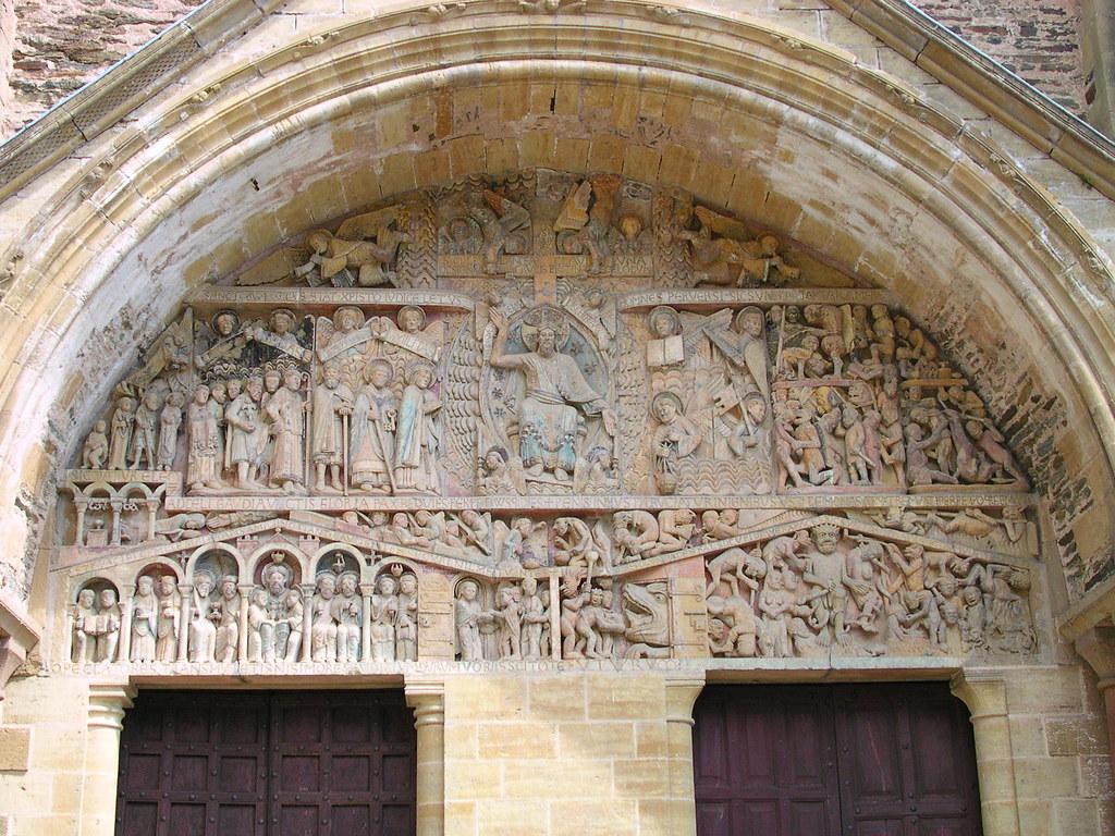 Tympan Du Jugement 233 Glise Saint Foy Conques Fr12 Flickr