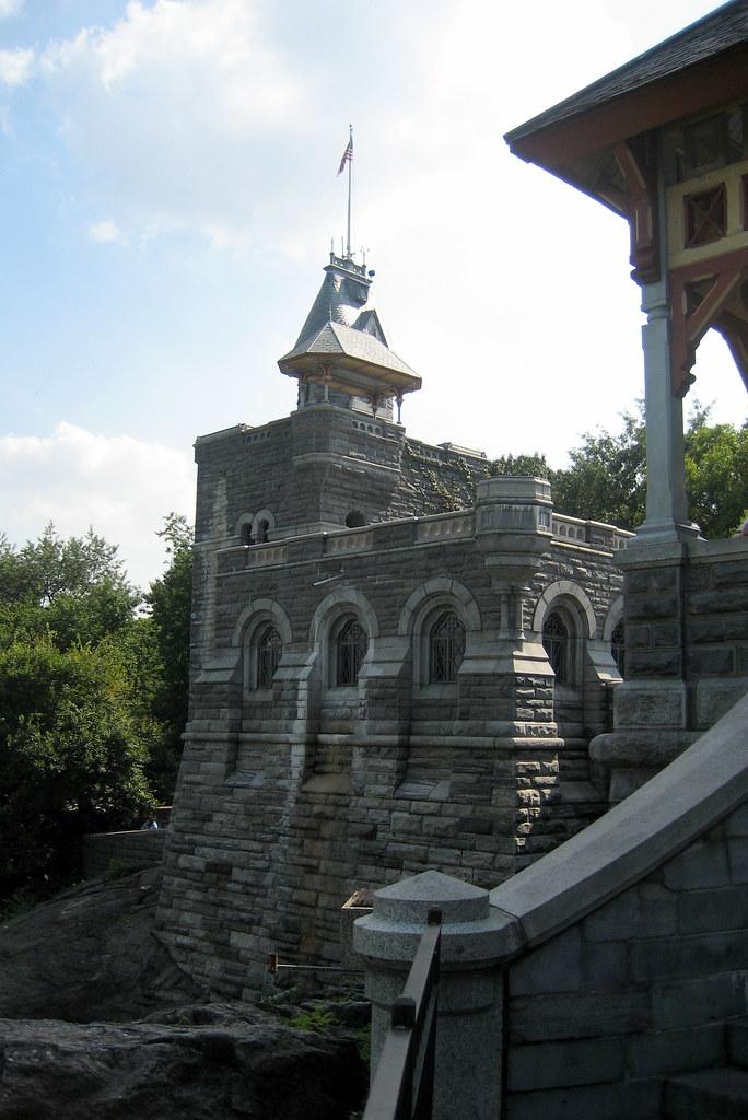 Nyc Central Park Belvedere Castle Belvedere Castle