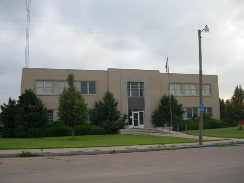 Hayes County Court House | Hayes Center, Nebraska Erected ...