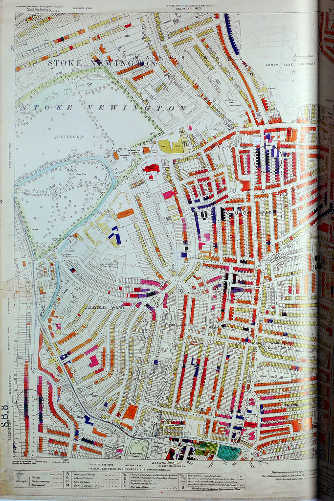 London County Council Bomb Damage Map 1939 1945   Hackney       Flickr     London County Council Bomb Damage Map 1939 1945   Hackney and Stoke  Newington left