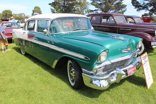1956 Chevrolet Bel Air 4 Door Sedan Sherwood Green