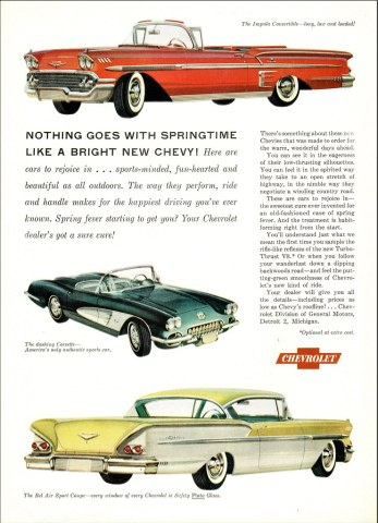 1958 chevrolet cars » 1958 Chevrolet Impala  Corvette  and Bel Air   Alden Jewell   Flickr     1958 Chevrolet Impala  Corvette  and Bel Air   by aldenjewell