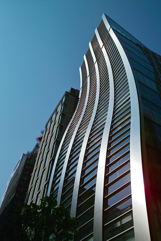 Bending Building Ginza Tokyo Japan 2008 04 29