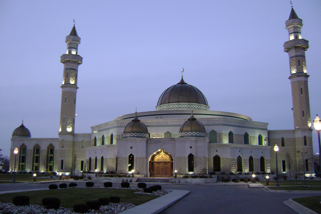 Mosque Au Natural Detroit Is Considered The Islamic Center Flickr