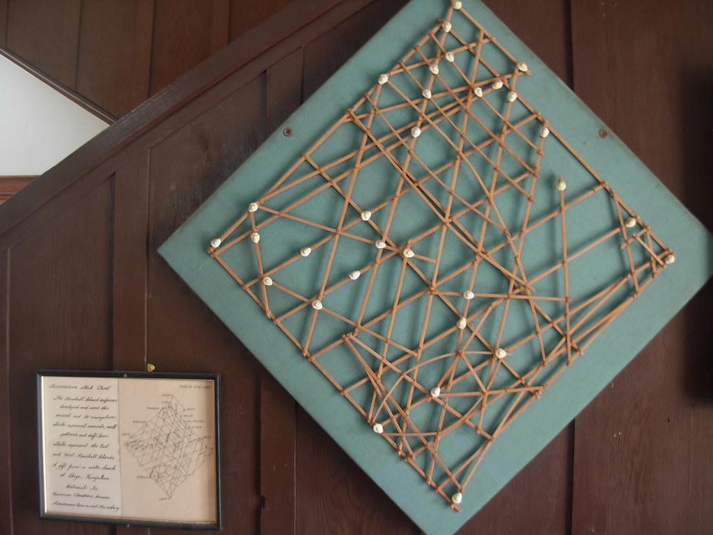 Micronesian Stick Chart Micronesian Stick Chart Marshall