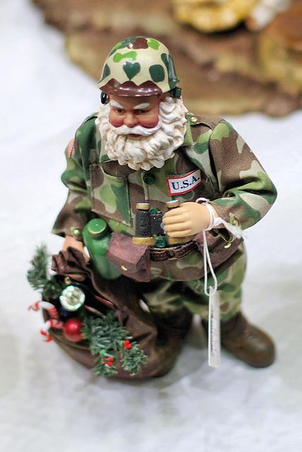 Military Santa Figure Flickr Photo Sharing