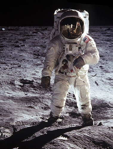 Buzz On The Moon Edwin Quot Buzz Quot Aldrin On The Moon July