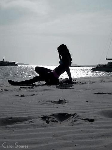 Menina Da Praia Modelo Kelly Karine Soares Local