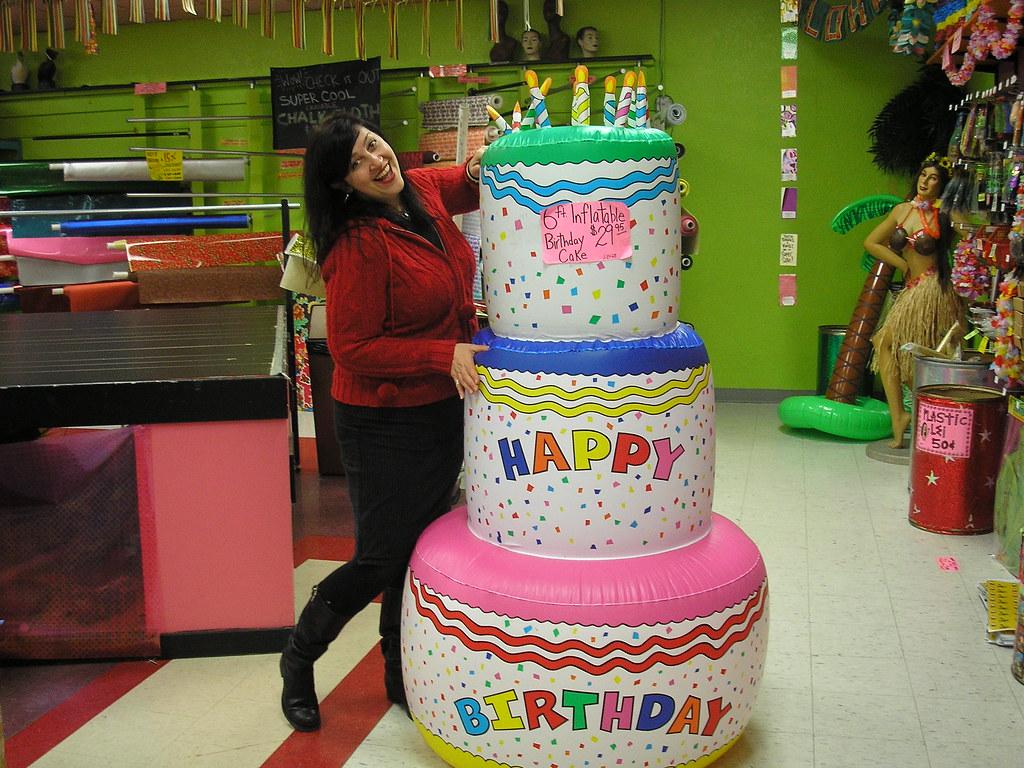 Giant Birthday Cake Shana Wishes It Was Her Birthday So