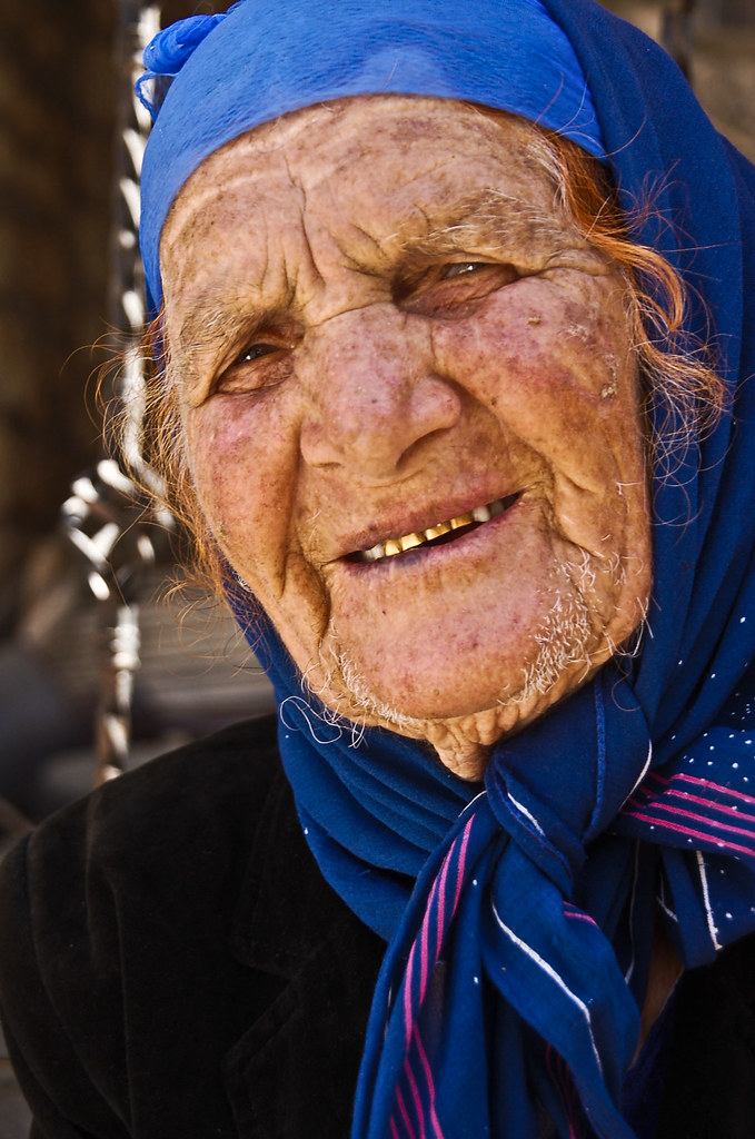 Old Assyrian Syriac Lady Hah 169 All Rights Reserved