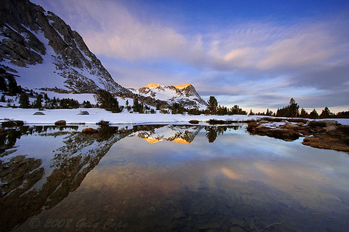 Vogelsang Sunrise At Fletcher Lake Yosemite National