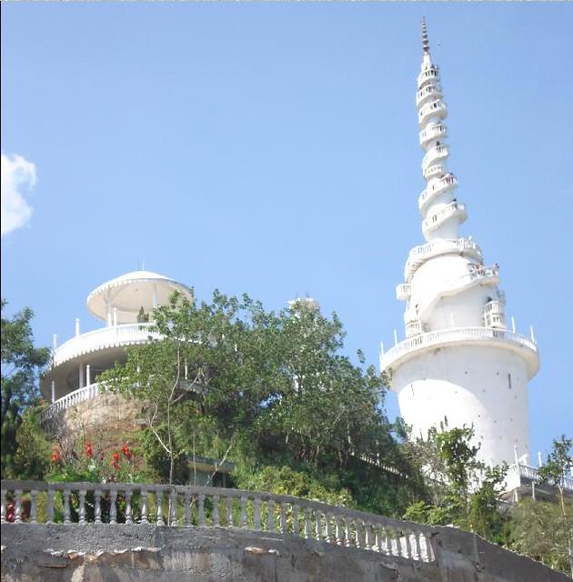 Ambuluwawa Viharaya Buddhist Temple Sri Lanka