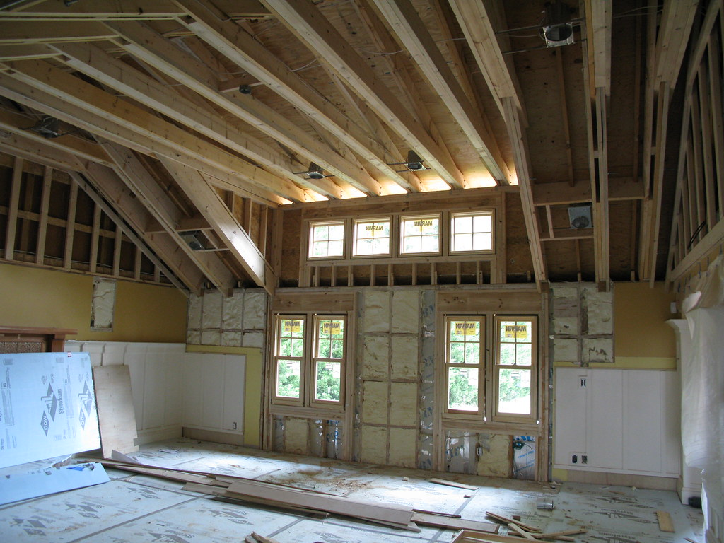 Raised Ceiling Spray Foam Insulation This Is A