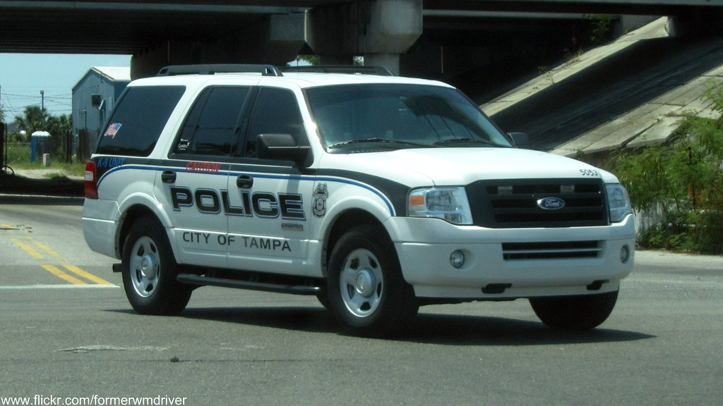 Tampa Police Ford Expedition K 9 If You Want To Use