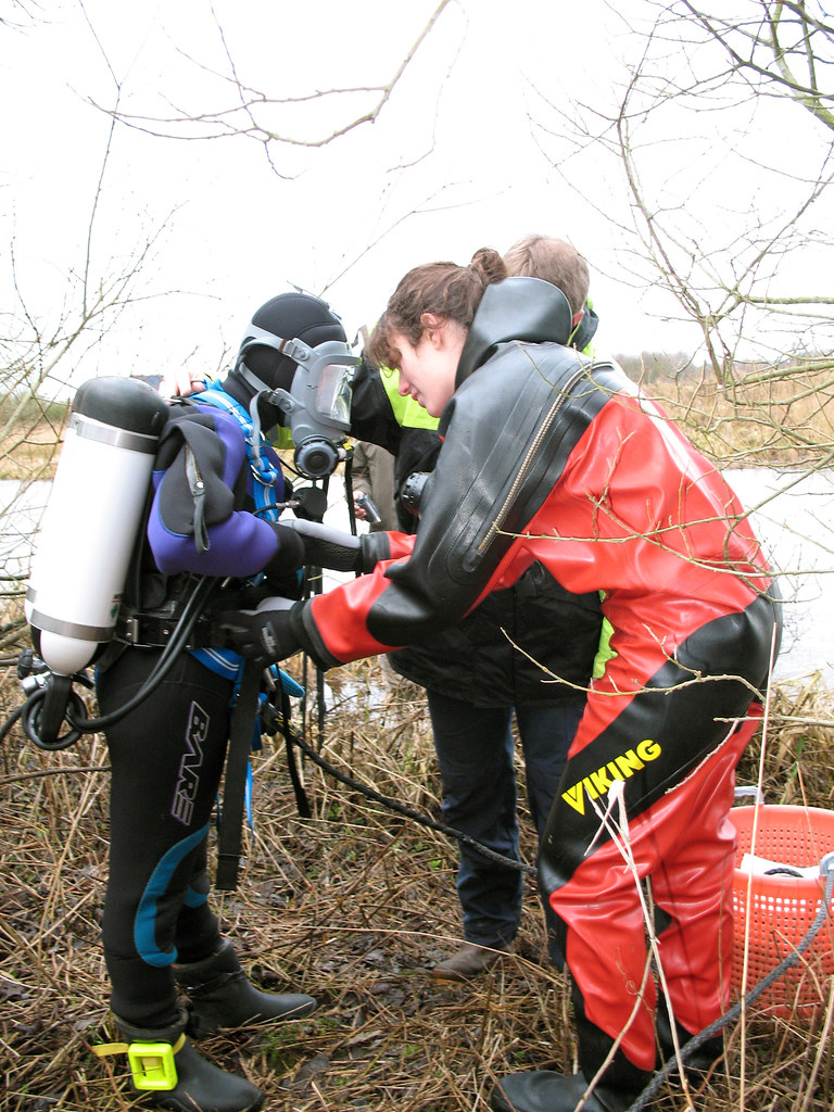 Gredstedbro 03 Dressing Our First Diver Maritime