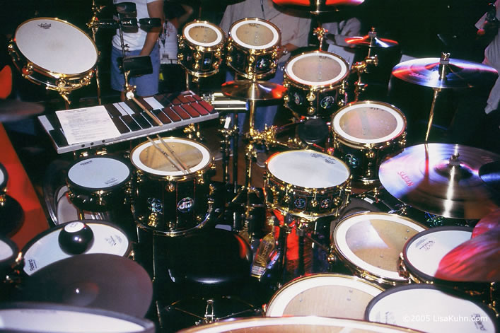 Neil Peart RUSH 30th Anniversary Drum Kit   R30   Photograph      Flickr     Neil Peart RUSH 30th Anniversary Drum Kit   R30   by iLiveWhereIam