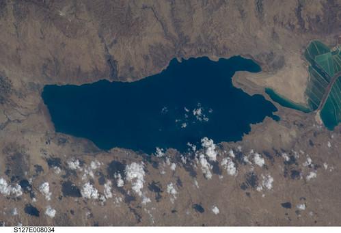 Dead Sea Jordan Israel Nasa International Space Station