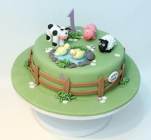 Farm Yard Cake Alex Lankester Flickr