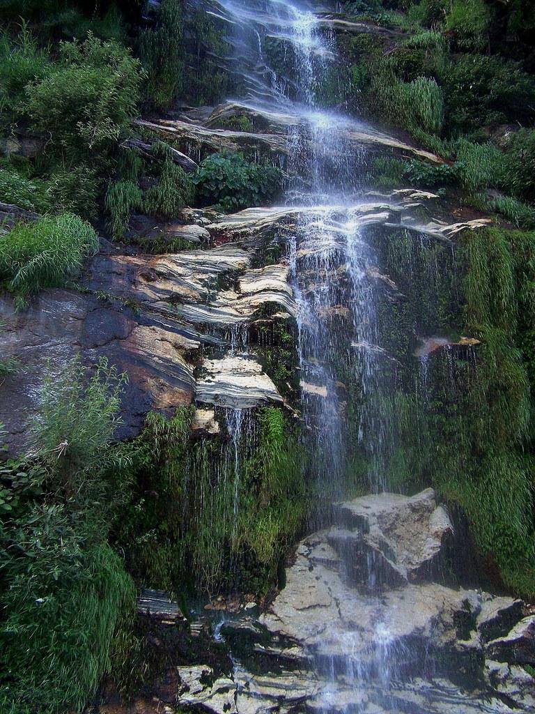 Waterfall In District Kohistan Pakistan July 2009 Flickr