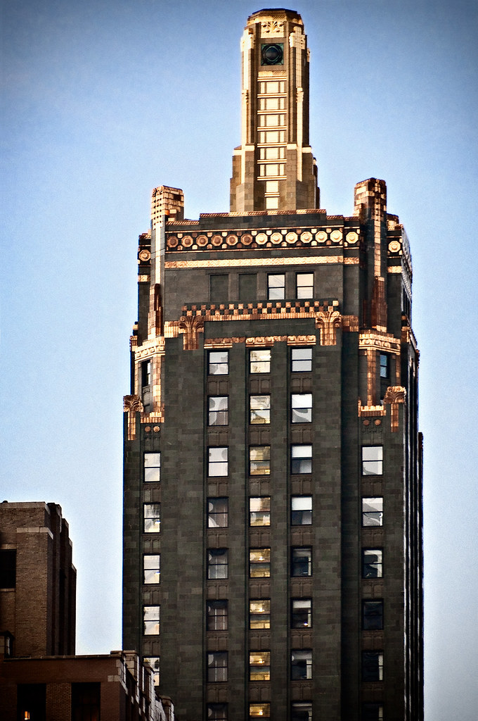 Carbide Amp Carbon Building 1929 Crown 230 North Michiga