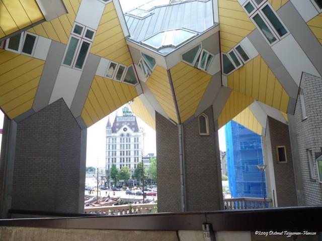 Rotterdam Kubus Woningen Cube Houses Kubuswoningen