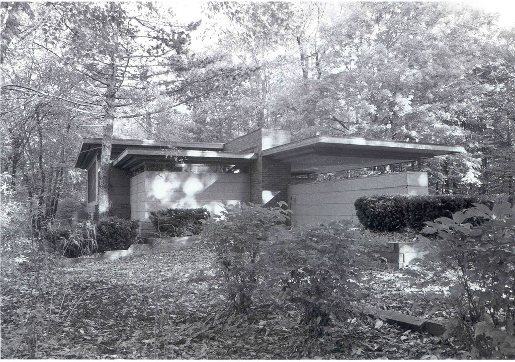 Goetsch Winckler House 1940 Frank Lloyd Wright
