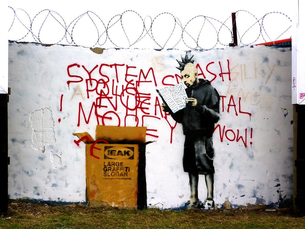 Banksy Ikea Punk 303db Flickr