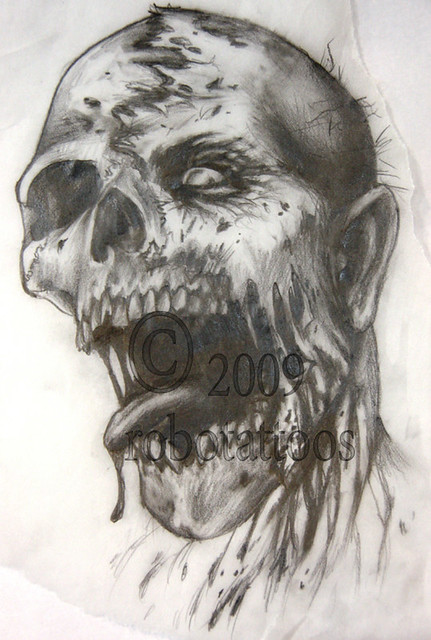 Zombie Drawings Pencil