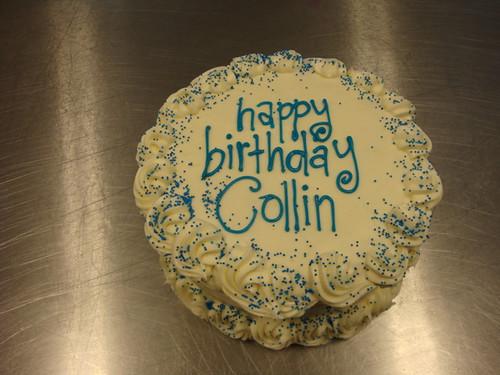 Jack S Lemon 10 Inch Cake Happy Birthday Collin Flickr