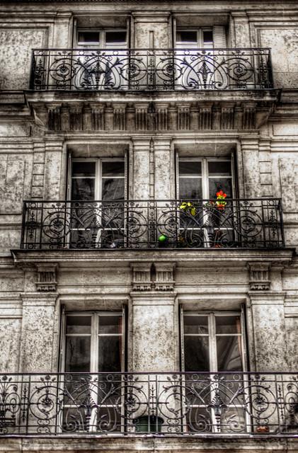 Flowers At A Paris Balcony Flores En Un Balc 243 N De Par 237 S Flickr
