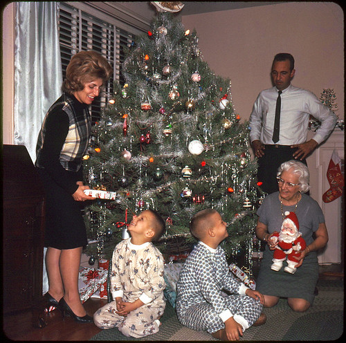 Vintage 1960s Christmas Card
