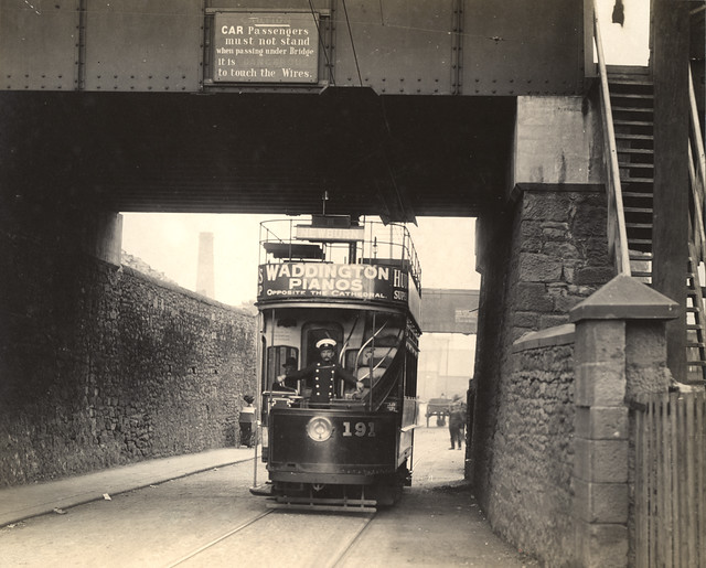 050201 Tram Scotswood Road Newcastle Upon Tyne Unknown C 1