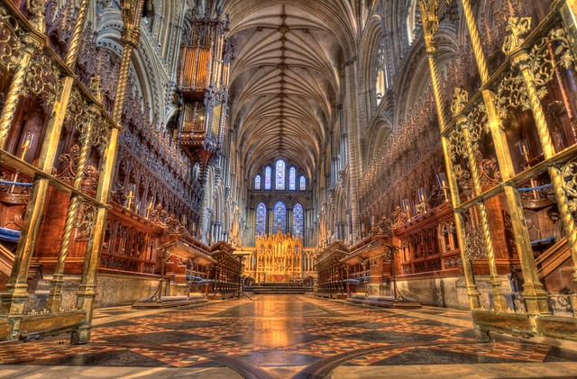 Ely Cathedral Interior In The Back Some Shots Of The