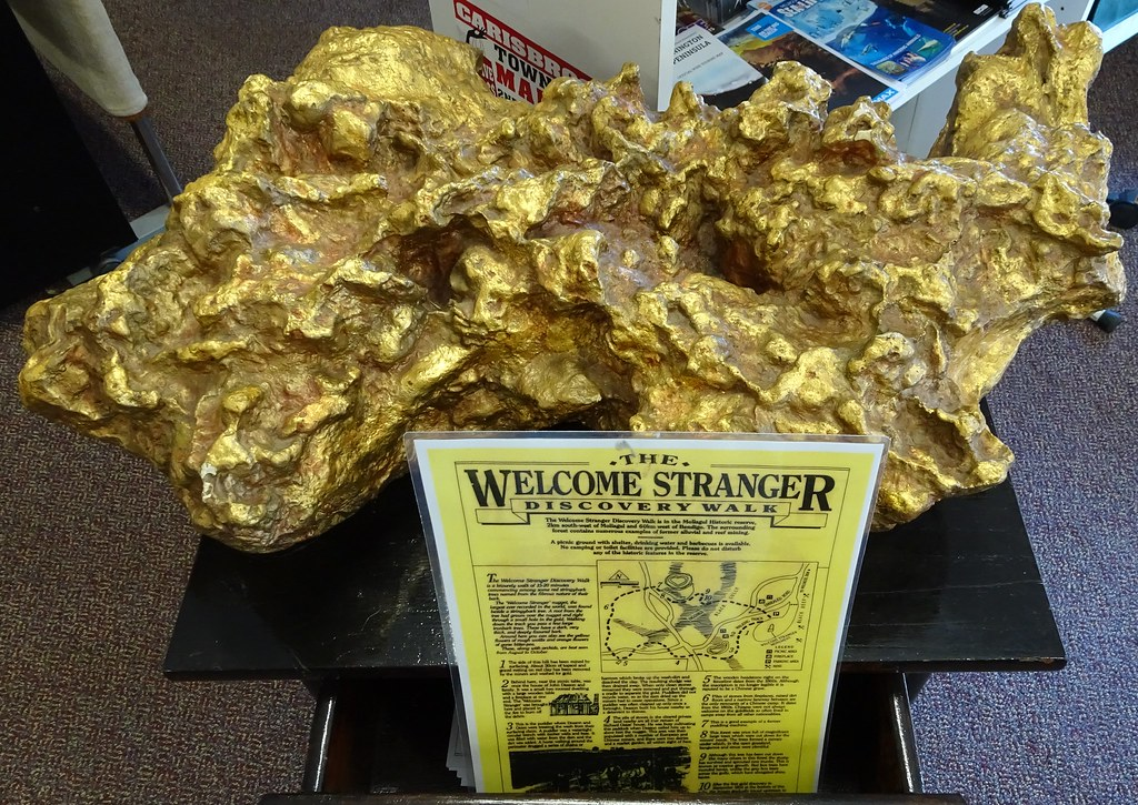 Biggest Gold Nugget Found World