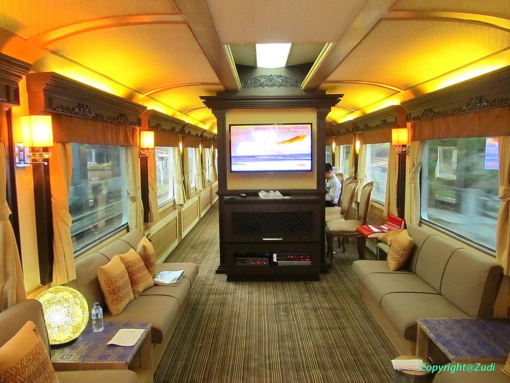 Kereta Wisata Jawa A Luxury Wagon That Offering 5 Stars