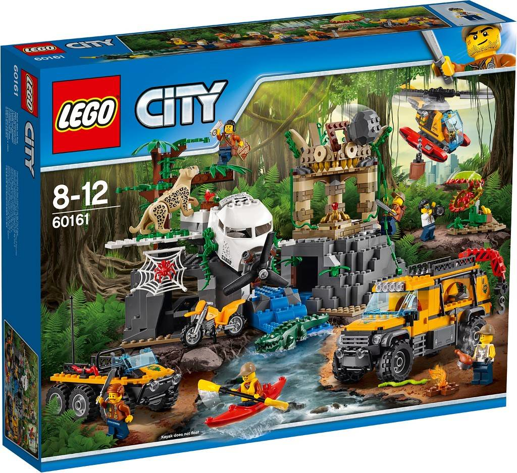 LEGO City 60161   Jungle Exploration Site   Release  08 2017      Flickr     LEGO City 60161   Jungle Exploration Site   by THE BRICK TIME Team