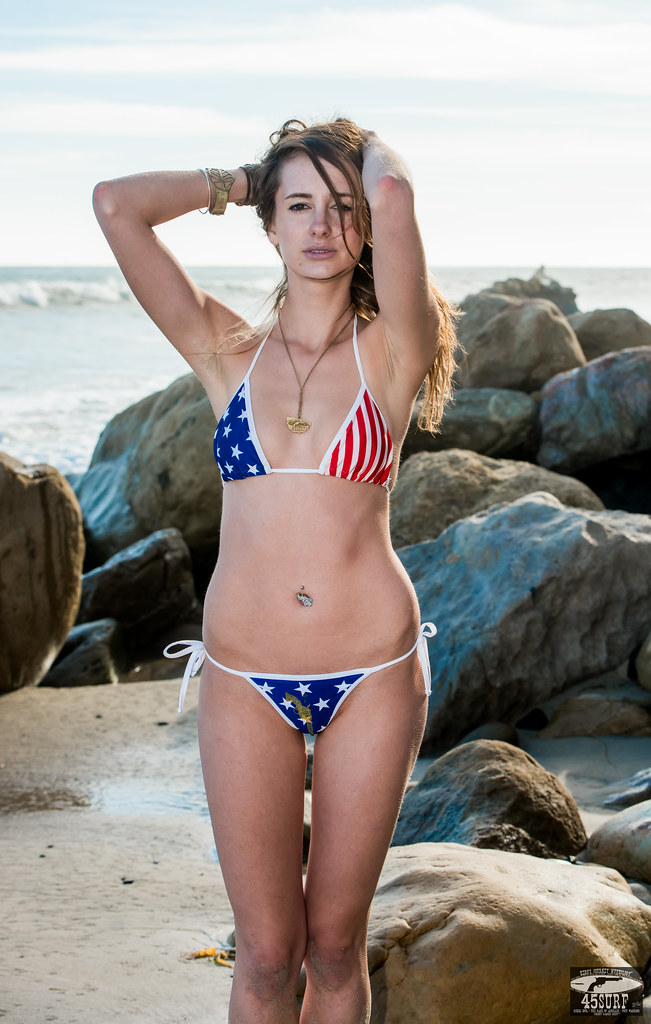 American Flag Beach House