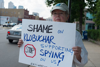 Protest Against Nsa Surveillance Minneapolis Minnesota