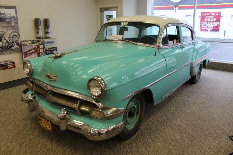 1953 chevrolet cars » 1954 Chevrolet Belair 4 door Sedan   Chevrolet introduced a       Flickr     1954 Chevrolet Belair 4 door Sedan   by Sicnag