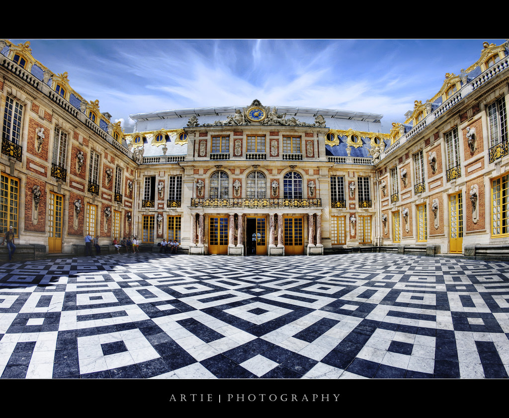 Best Kitchen Gallery: The Interior Court Of The Palace Of Versailles France … Flickr of French Architecture Versailles on rachelxblog.com