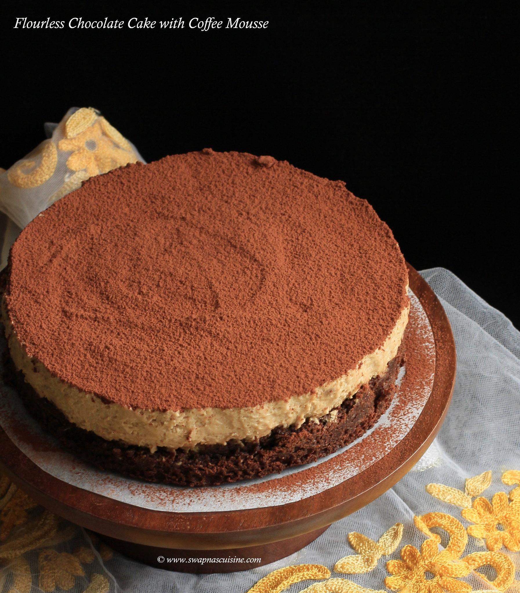 Flourless Chocolate Mousse Cake Recipe