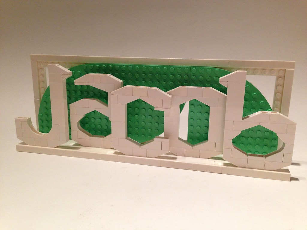 Customized Lego Name   Jacob   A new order for www etsy com       Flickr     Customized Lego Name   Jacob   by davekaleta