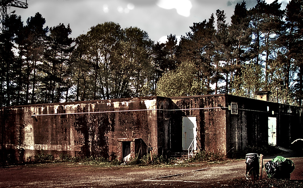 Nuclear Bunker East Kilbride Scotland This Building