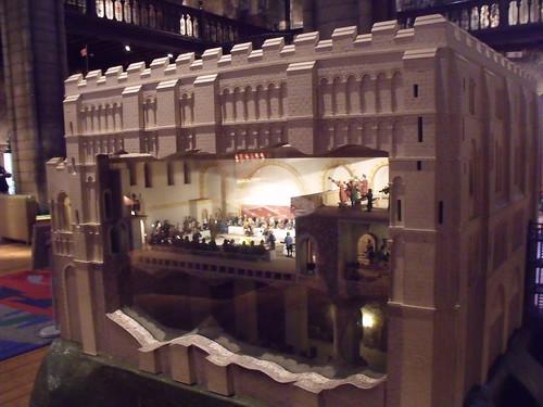 Inside Norwich Castle Model Of The Castle Shots Of The